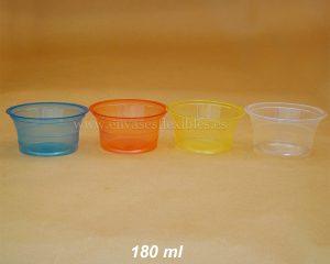 180 ml Copas de color