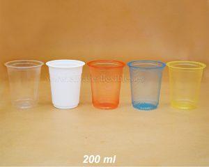 200 ml Copas de color