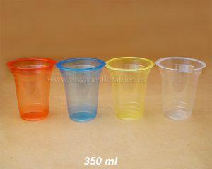 350 ml Copas de color