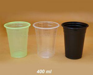 400 ml Copas de color