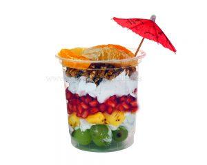 Tazas de frutas