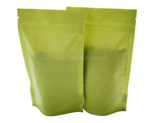 Papel Verde Metalizado