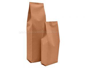 Papel bolsas marrones