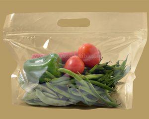 El tamaño grande de verduras Bolsas