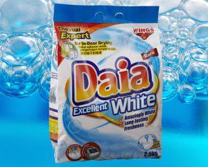 Envases de detergente en polvo