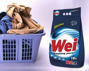 Envase de detergente
