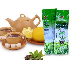 Embalaje de té verde